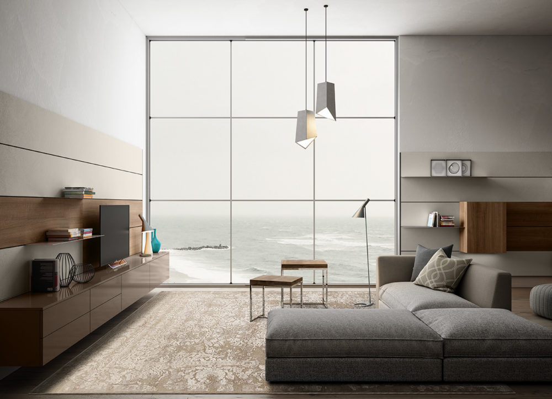 Salas de estar Modernas - Living 01
