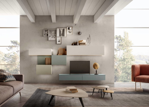 Salas de estar Modernas - Living 02