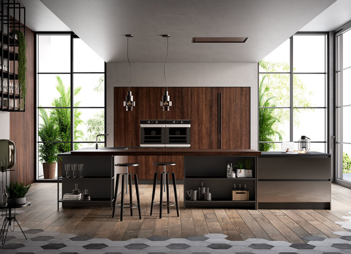 Cocinas modernas - Kalì - Arredo3