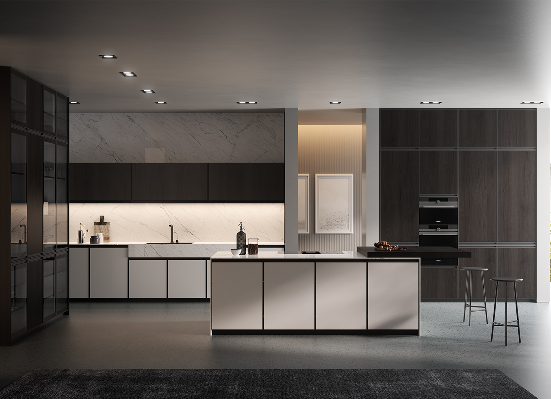 Cocina moderna y de diseño - Kronos - Arredo3