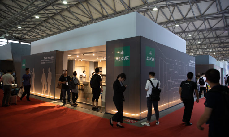 Grand succès pour Arredo3 au Kitchen & Bath 2019 Chine